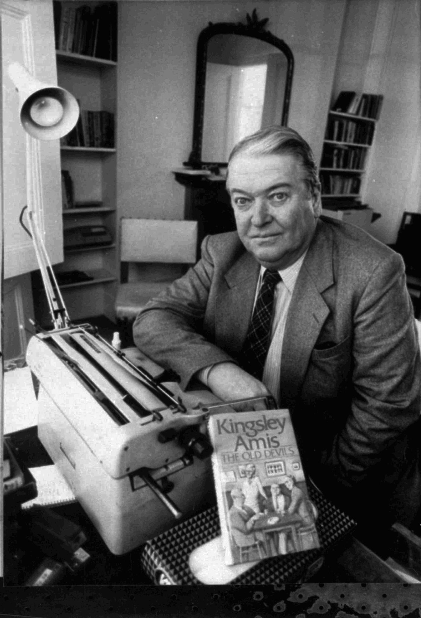 Kingsley Amis Biography - Kingsley Amis Childhood, Kingsley Amis ...