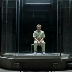 Silva in a prison cell after being captured by MI6.