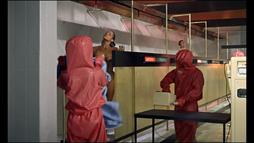 Honey Ryder decontamination scene
