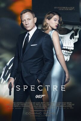 'Spectre' movie poster