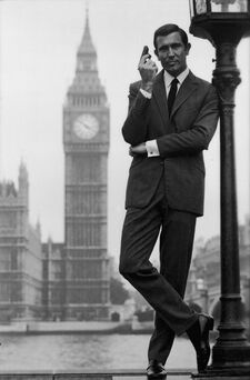 George Lazenby (OHMSS Promotional Still)