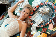 Ursula Andress Casino Royale Table (1967)