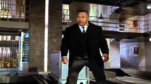 James Bond vs Oddjob (Goldfinger)