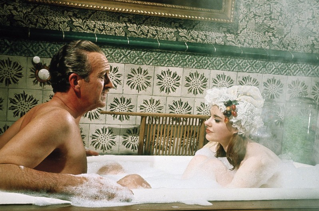 File:David Niven in Casino Royale - Bath Scene (Promotional Image).png