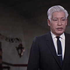 Osato telling Blofeld that Number 11 failed to kill 007