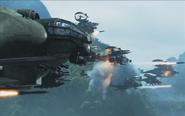 DotH ships firing