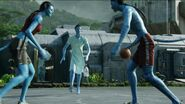 Avatars playing basketball 2