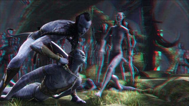 File:01.30.48 Tsu'tey threatens Jake's Avatar redcyan.png