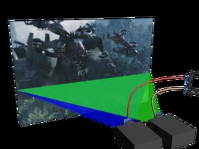 Projector 3d hela back avatar
