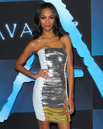 Saldana - blue carpet