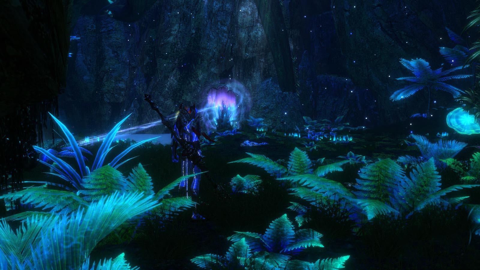 Avatar Tree Wallpaper Cavern of Songs