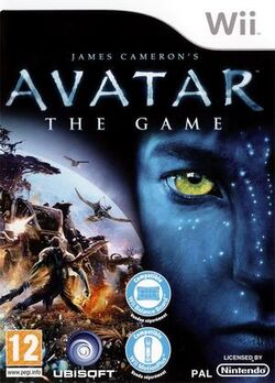 Avatar Game Wii cover