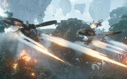 Human vs navi battle pandora avatar-1920x1200