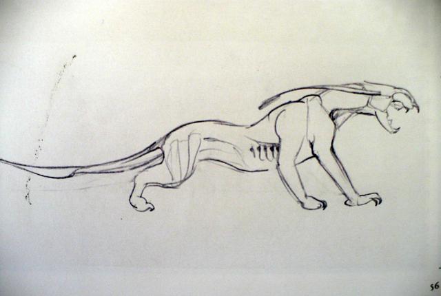 File:Art of Avatar Thanator Sketch.png