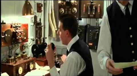 Titanic deleted scene Shut up! I am working Cape Race.