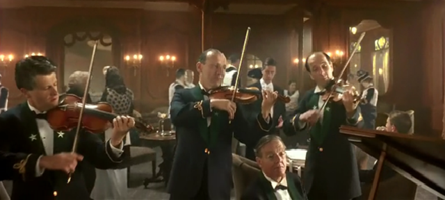 Titanic Movie Sinking Orchestra