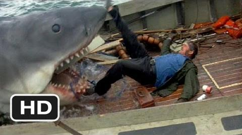 video quint is devoured jaws 9 10 movie clip 1975