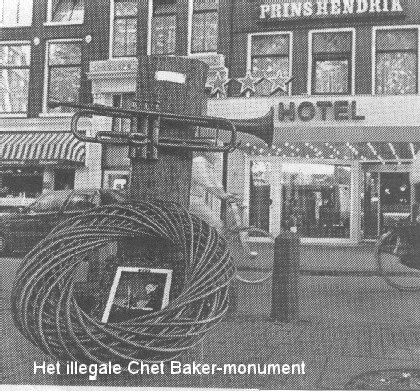 Hotel Prins Hendrik Amsterdam Chet Baker Room