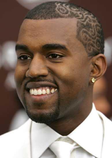 Pleasing Image Kanye West New Hairstyle Jback Countdown Wiki Short Hairstyles Gunalazisus