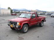Jeep comanche alaska