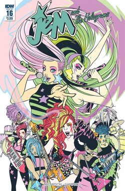 Jem and The Holograms, Issue 16 - 01