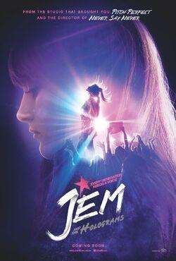 Jem film poster
