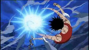 Luffy vs Usopp