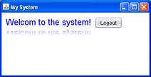 Swing password example 2