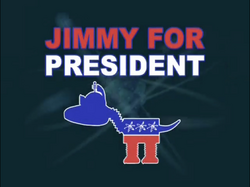 Jimmy for president title