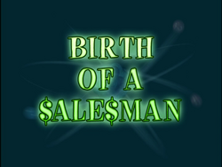 Birth of a Salesman (Title Card)