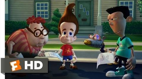 Jimmy Neutron Boy Genius (4 10) Movie CLIP - No Parents (2001) HD