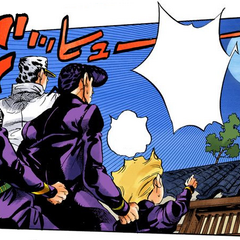 Yoshihiro escapes with the help of a crow