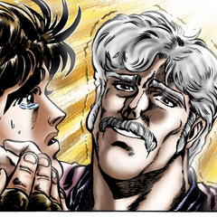 George Joestar expiring in the manga