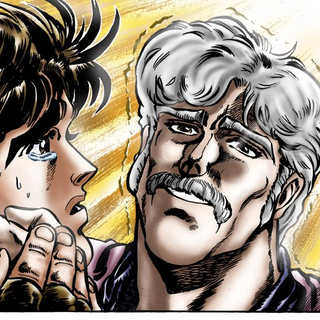 George Joestar expiring in the manga