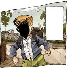 Keicho as a child.
