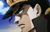 Jotaro learns of his mother's worsening condition Anime