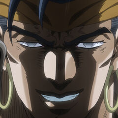 N'Doul with his eyes open