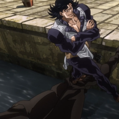 Steely Dan using Jotaro as a bridge
