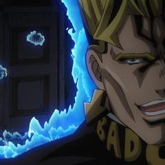 Threatening to kill Josuke.