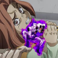 Bites the Dust stops Hayato's suicide attempt.