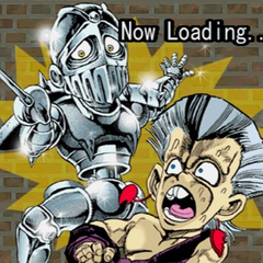 Young Polnareff in '!Heritage for the Future