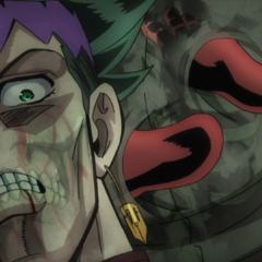 Absorbing the nutrients from Rohan's body.