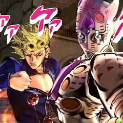 Giorno and Golden Experience Requiem, <i>EoH</i>