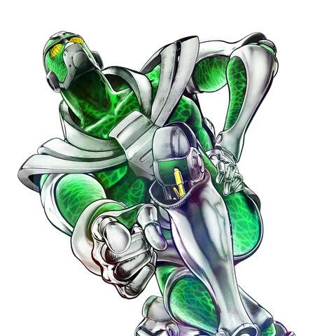 Hierophant Green render, <a href=