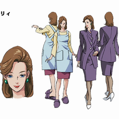 Holy as she appears in the 2000 OVA.