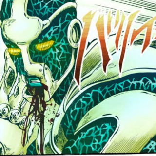 Hierophant Green's mouth exposed