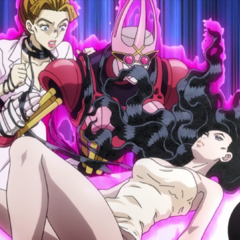 Yukako grabs Aya using <a href=