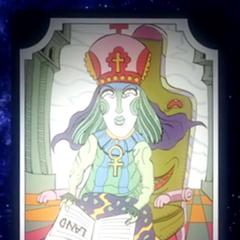 Tarot card representing the High Priestess