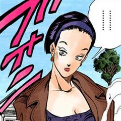 Tomoko initial appearance, before Araki's style change