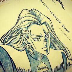 Drawn by a junior (後輩)